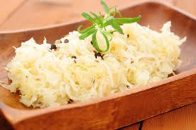 Sauerkraut - Trillions of probiotics in every mouthful!
