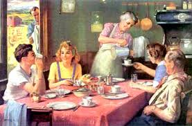 Family meals - merely a nostalgic memory?