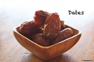 Dates are natural, healthy candies