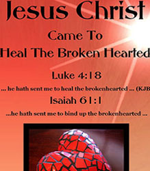 This is just one reason why it's so important for the Lord to heal your broken heart